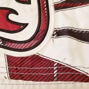 Billabong Swim - Billabong Red, White, & Black Swim Trunks Size 30
